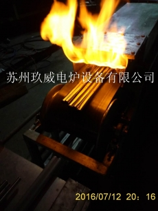 Stainless steel pipe mesh with annealing furnace