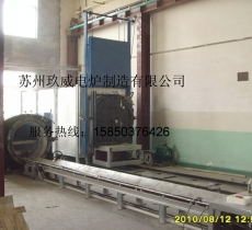 Trolley type vacuum bright annealing furnace